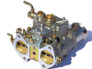 New 45dcoe 152g Carburetor With Air Horns, Replacement For Weber Solex Dellorto