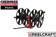 Reelcraft T-2462-0 Heavy Duty Hand Crank Cable Welding Reel Without Cable