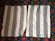 Antique Vintage Hand Weaved On Wooden Loom Bags - 100 Organic Cotton