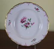 Collectors Cabinet Plate Hand-painted Delicate Antique Flowers