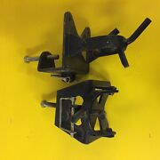 Weight Distributing Tow Hitch Tongue Brackets Camper Travel Trailer Used
