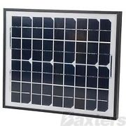 10w Solar Panel Smart Nattery Charger And Connecting Leads Complete Kit