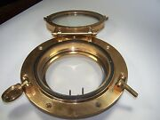 Victory 6 Round Solid Bronze Porthole W/ Screen Ch1554