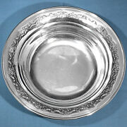 Towle Sterling 9 Round Vegetable Bowl 625 French Provincial No Mono