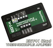 Egt-k Thermocouple Amplifier Conditioner K-type 0-1250anddegc 0-5v 2ch Ad8495 Ad597
