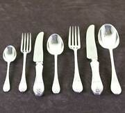 Cutlery Complete European Set For 12 Including Fish Eaters And Serving Pieces