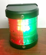 Marine Boat Red And Green Bow Led Navigation Light 2 Nautical Miles