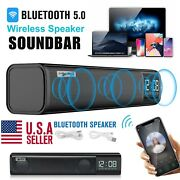 Tv Home Theater 3d Stereo Bluetooth Sound Bar Speaker Mic System For Lg Samsung