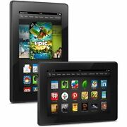New Other Kindle Fire Hd 16 Gb Wi-fi 7and039 Black P48wvb4 3rd Gen.