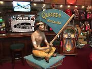 1950's Quoddy Moccasins Indian Retail Store Statue Display 33 Watch Video