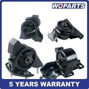 4x Engine Motor Trans Mount Fit For Toyota Corolla 1.6l 1.8l 1993 - 1997 Manual.