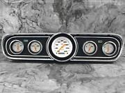 Classic Instruments 1965-1966 Mustang Package Velocity White Instrument Cluster