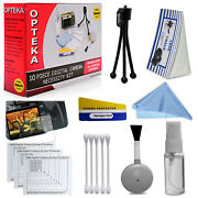 New 14pc Pro Cleaning System Kit For Digital Cameras Nikon Canon Sony Olympus