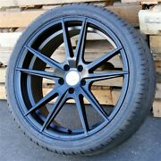 4 20x8.5 5x14.3 Et+30 Wheels And Tires Pkg Toyota Camry Is250 Is300 Honda Accord
