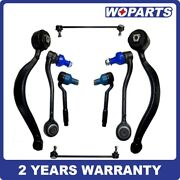 8x Control Arm Ball Joint Sway Bar Links Tie Rod End Fit For Bmw X5 E53 00-06