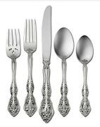 Michelangelo 60 Piece Set Service For Of 12 Oneida Flatware Stainless New