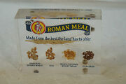Vintage Advertising Paperweight Roman Meal Bread Lucite Paper Weight Rare