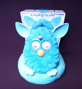 Hasbro Furby 2012 Taboo Teal With Sofa/lounge Rare Collectible 30 Day Warranty