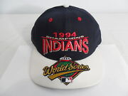 Super Rare 1994 Indians World Series Champions Snap Back Hat Cap Collectable