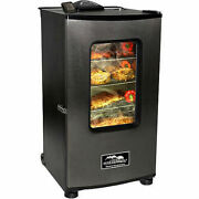 Electric Smoker With Window Ovens Bbqs Grills Appliances Home Garden Camping