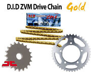 Fits Honda Cb1300 S-6789 06-09 Did Heavy Duty Gold X-ring Chain And Sprocket