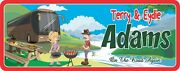 Campsite Sign Custom Personalized Family Camper Welcome Sign Funny Camping Signs