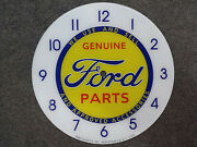 New14.25 Ford Parts Truck Hotrod Round Glass Face For Pam Clock