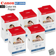 Canon Selphy Cp770 Ink And Paper - 540 Sheets With 15 Toners Canon Kp-108in