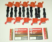 10+ignition Coil 511 Heavy Duty Red +10 Motorcraft Plug Sp515/sp546