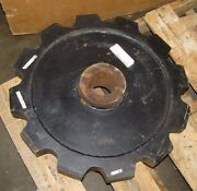 Martin 132c12 Approx. 24-1/2 O.d. 3-7/16 Bore 12 Tooth Steel Sprocket New
