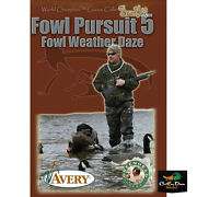 Fowl Pursuit 5 Fowl Weather Daze Shawn Stahl Duck Goose Hunting Video Dvd