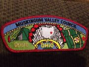 Mint Csp Muskingum Valley Council Ohio Sa-12 Red Mylar Border 2000 100 Value