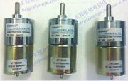 Magnetic Electric Geared Box Motor Dc 24v 15rpm-5000r/min 6mm Shaft Dia Cylinder