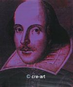 Steve Kaufman Shakespeare State Ii Original Signed And Numbered Oil Painting