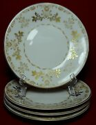 Harmony House China Classique Gold Pattern Bread Plate - Set Of Four 4 - 6