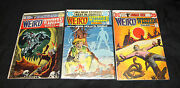 Weird Western Tales Lot - Jonah Hex And Scalphunter - 1972 Grade 7.0 To 8.5 Wh