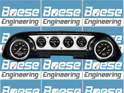 63-64 Ford Galaxie Aluminum Dash Insert Panel W/ Auto Meter Old Tyme Black Gps