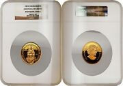 Canada 2003 Great Seal Of Canada 300 Gold Ngc Pf69 Ultra Cameo