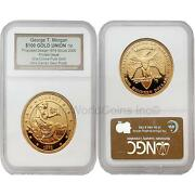 Usa 2005 George T. Morgan 100 Gold Union Private Issue Ngc Proof