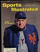 March 5 1962 Sports Illustrated Magazine With Casey Stengel Mets Cover Ex