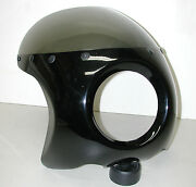 Motorcycle Black Fly Screen For 6 Headlight