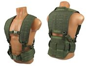 Modular Vest Military Paintball Olive Airsoft Chest Rig Molle Pals Green Od