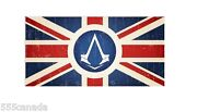 Assassins Creed Syndicate Flag - Brand New Exclusive Ebgames Canada - Union Jack
