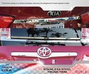 Stainless Steel 2 Wide Lower Trunk Trim 1pc Fits Buick Verano 12-16