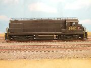 Ho Overland Or Alco Brass Prr Dl-640 Rs-27 Diesel 2402 W/antennas Painted