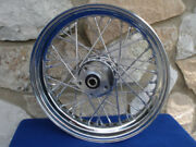 16 X 3 Front Wheel For Harley Fatboy And Heritage 84-99