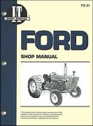 Ford Tractor Repair Manual New Holland 2000 3000 4000 2100 3100 4100 4110