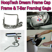 Hooptech Dream Frame Cap Frame And T-bar Gage For Babylock Wide Cap Frame Encfs