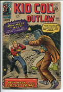 Kid Colt Outlaw 127 - Iron Mask And His Circus Of Crime - 1966 Grade 4.5