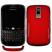 New Blackberry Bold 9000 1gb Customised Red Back Factory Unlocked 3g Gsm